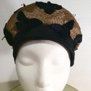 1920'S FLAPPER HAT BY DESIGNER JAN LESLIE